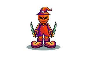 helloween mascot