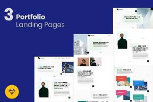 Portfolio Landing Pages for Creative