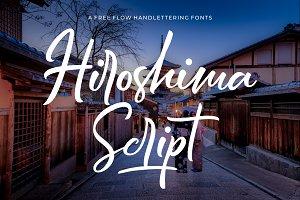 50% Off - Hiroshima Script Font