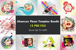 Abustract Photo Template Bundle