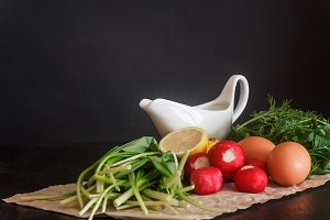 Prepared fresh vegetables and produc