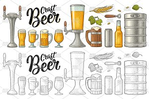 Beer set Engraving