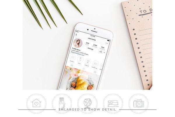 150 White Instagram Highlight Covers
