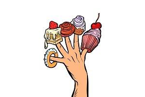 sweets cake cupcake donut