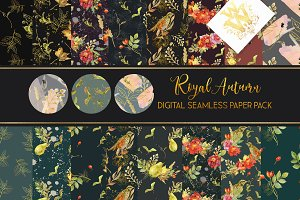 Royal Autumn paper pack