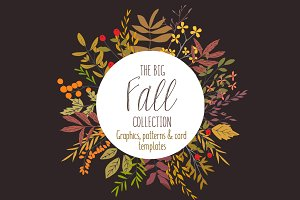 The Big Fall collection of graphics
