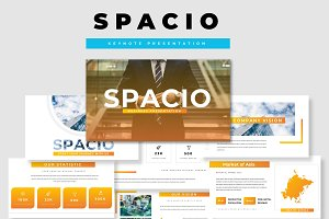 Spacio Business Keynote Presentation