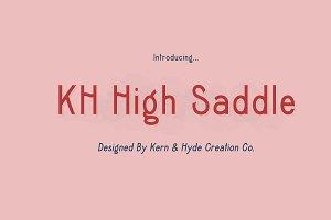 KH High Saddle