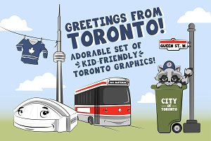 Cute Toronto Graphics