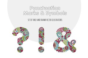 Bright Punctuation Marks