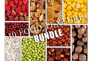10 Food texture - BUNDLE