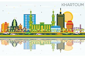 Khartoum Sudan City Skyline