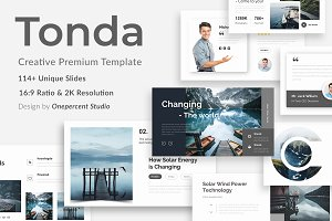 Tonda Creative Google Slide Template