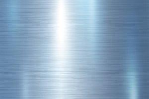 Blue metallic metal background