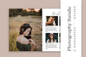 2 Photographer Pricing Guides Bundle