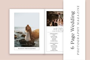 6-Page Wedding Photography Magazine
