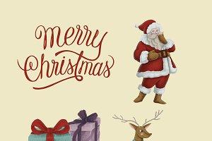 hand drawn Christmas illustrations