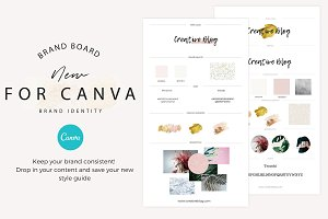 Brand boards Bold + Elements