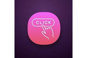 Click button app icon