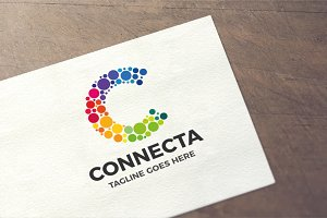Letter C - Connecta Logo