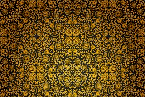 Vintage seamless floral patterns