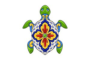 Mexican ornamental turtle.