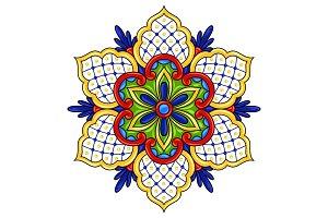 Mexican ornamental flower.