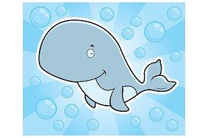 Whale Underwater