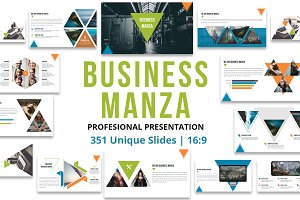 Business Manza Powerpoint Template