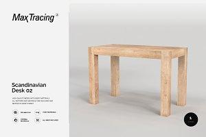 Scandinavian Desk 02