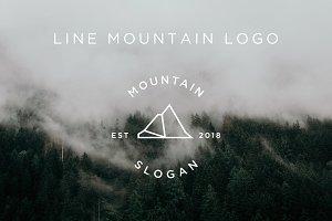 Line Mountain Logos