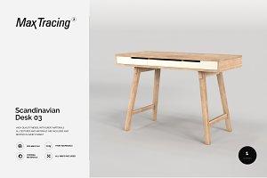 Scandinavian Desk 03