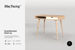 Scandinavian Desk 04