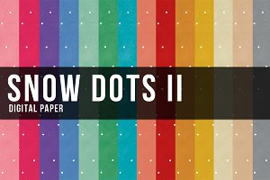 14 Snow Dots II Paper