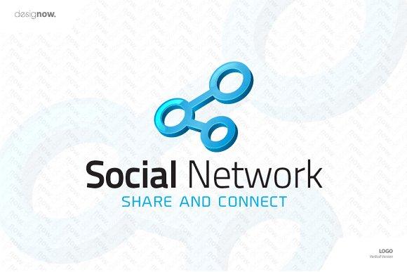 social network logo logo templates creative market