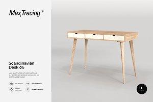 Scandinavian Desk 06