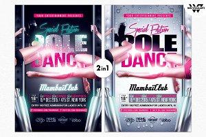 POLE DANCE Flyer Template