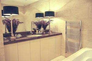 Luxerious bathroom