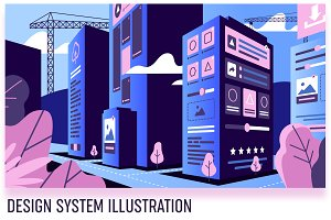 Design system development