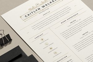 Resume Template | Caytlyn