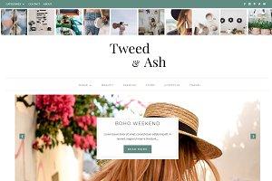 Tweed & Ash Divi Child Blog Theme