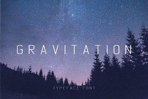 Gravitation Typeface Font