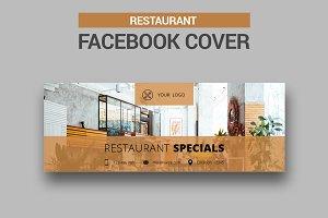 Restaurant Facebook Cover - SK