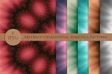 Abstract Ornamental Mandala Patterns