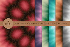 Abstract Ornamental Mandala Patterns