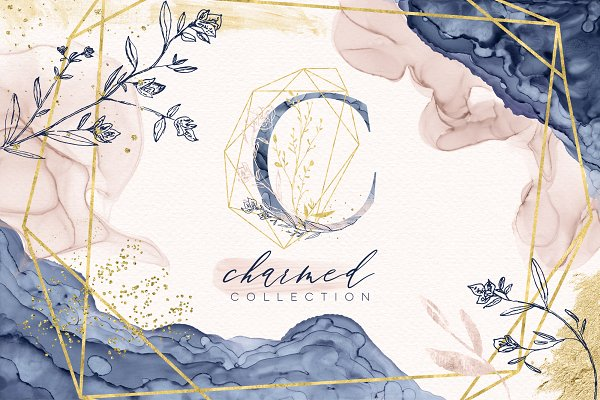 Graphics: Studio Denmark - Charmed Ink Collection