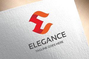 Letter E - Elegance Logo