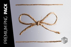 3 JUTE TWINE PNG IMAGES