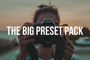 """BIG PRESET PACK"" Lightroom Presets"