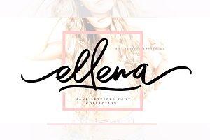 Ellena Font + Extras & 50% Off
